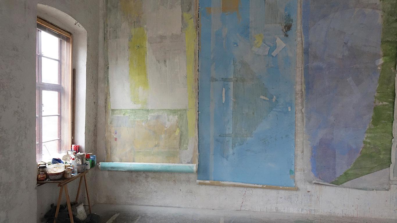 Rundgang mit dem Künstler Christoph Luger und dem Kunsthistoriker Rudolf Sagmeister, anschliessend Katalogpräsentation «Wandmalerei zwischen Fresko und Bild»